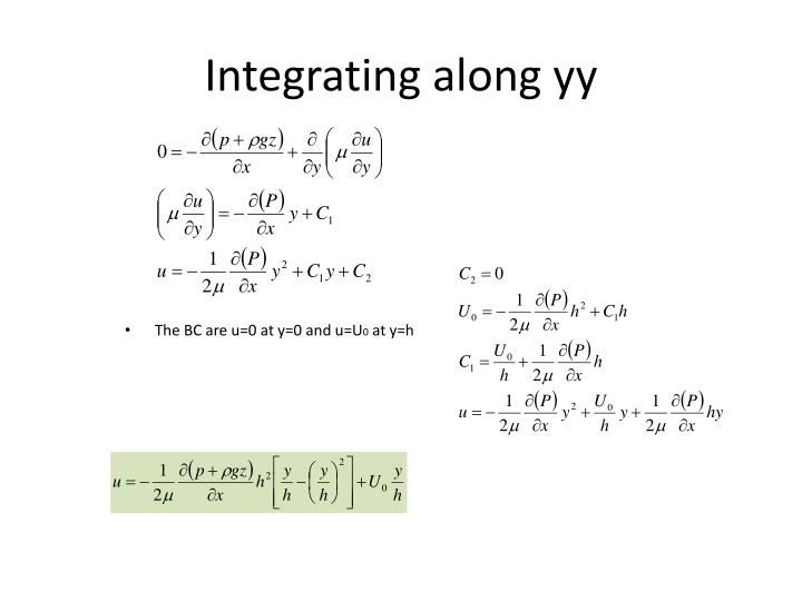 Integrating along