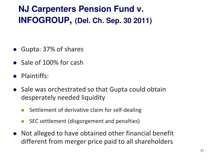 NJ Carpenters Pension Fund