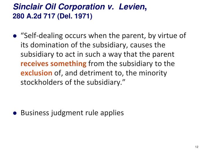 Sinclair Oil Corporation v.
