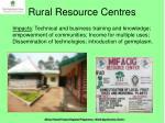 rural resource centres