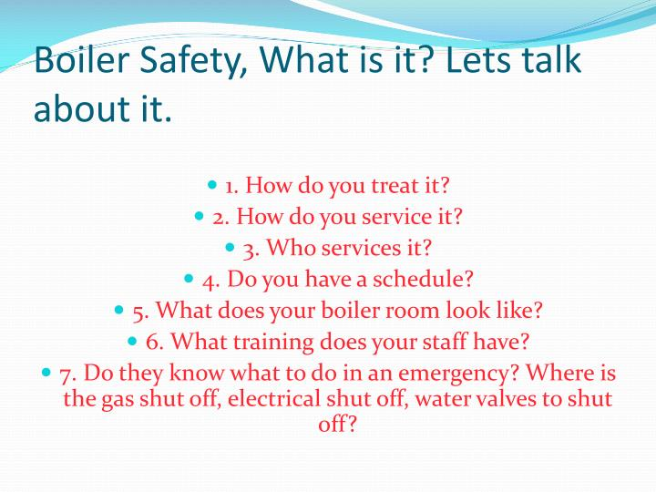 PPT - Boiler Maintenance PowerPoint Presentation - ID:7031181