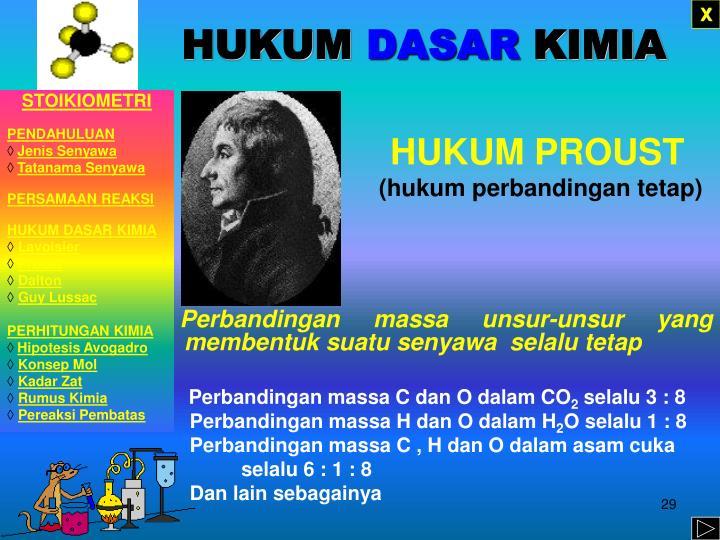 HUKUM PROUST