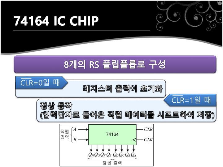 74164 IC CHIP
