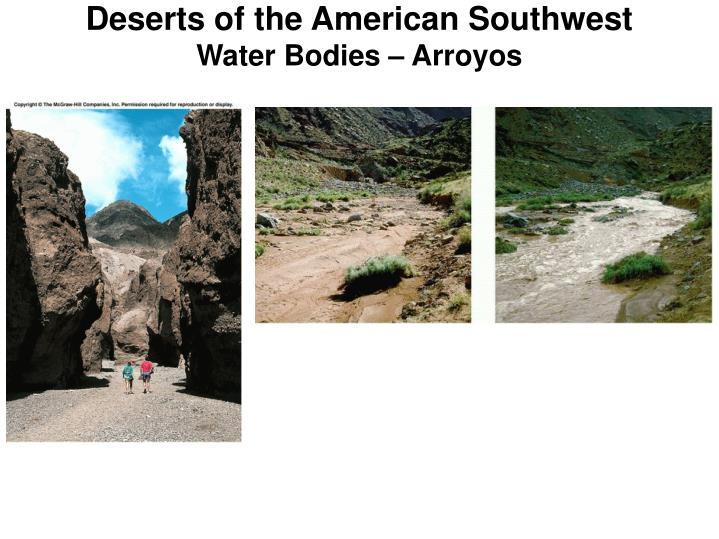 Deserts of the American Southwest