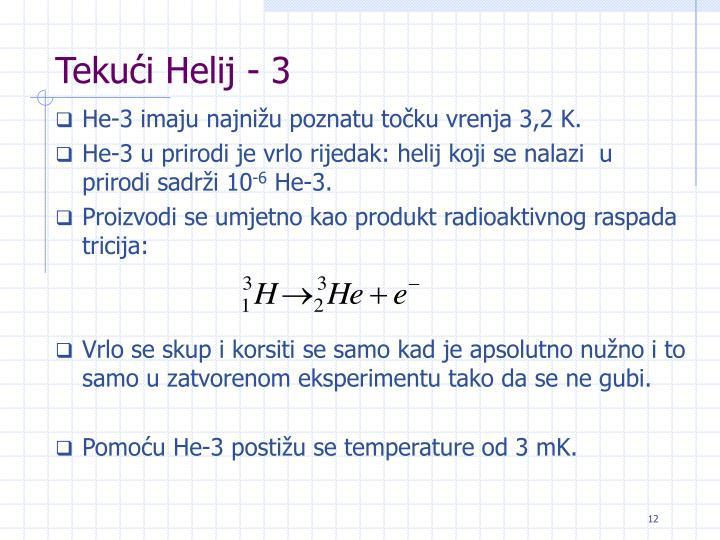 Tekući Helij - 3