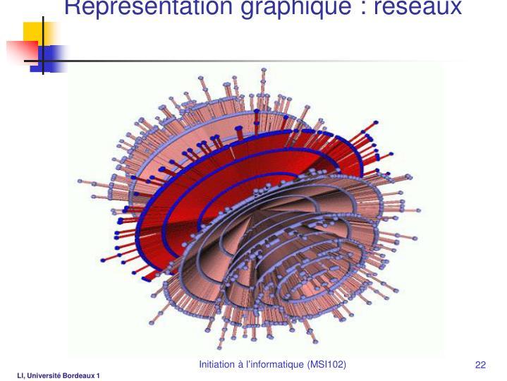 Représentation graphique : réseaux