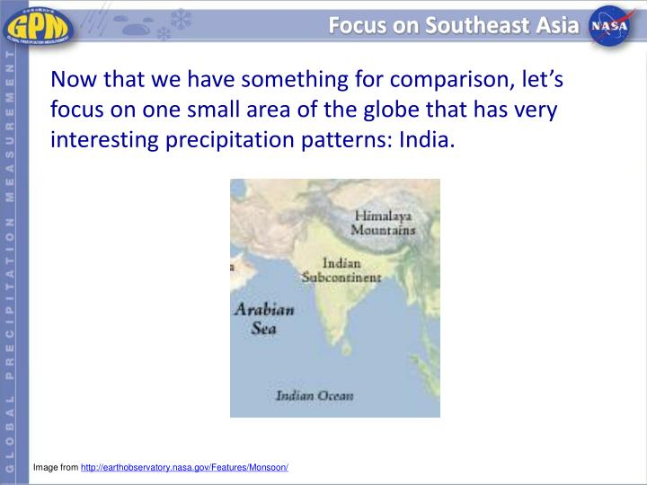 Focus on Southeast Asia