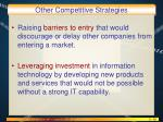 other competitive strategies1