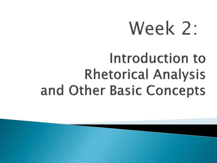 a guide to writing a rhetorical analysis Writing a rhetorical analysis introduction the introduction to your paper should be attractive so that the reader can be attracted to read the rest of your work you should put more attention to the introduction part because it is what the reader would come across first.