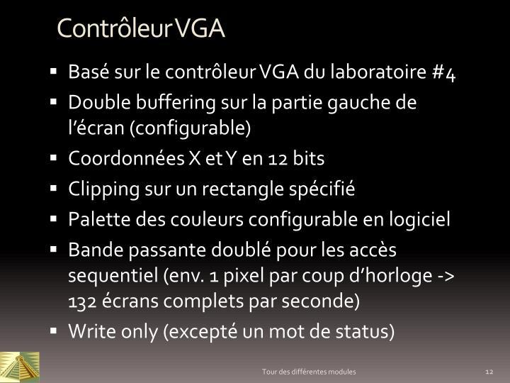 Contrôleur VGA