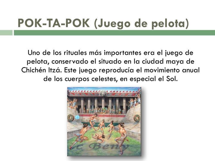 POK-TA-POK (Juego de pelota)