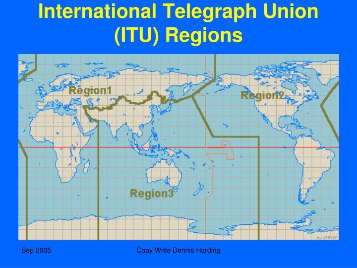 International Telegraph Union (ITU) Regions