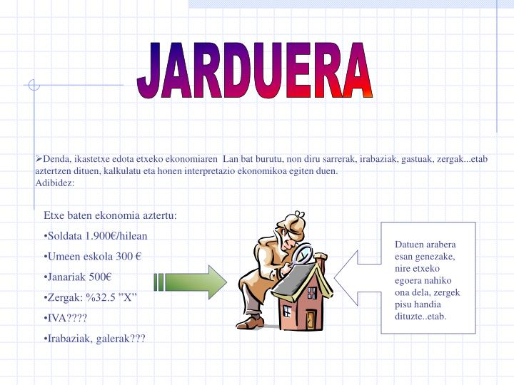 JARDUERA