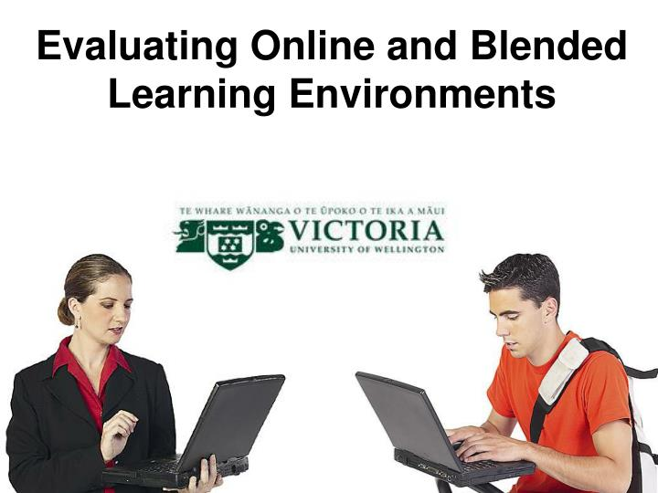 evaluating online and blended learning environments n.