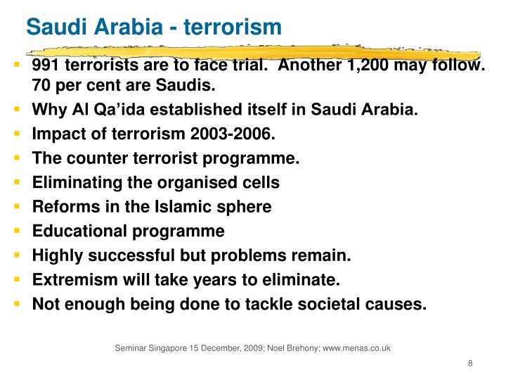 Saudi Arabia - terrorism