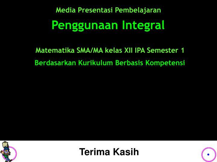 Media Presentasi Pembelajaran