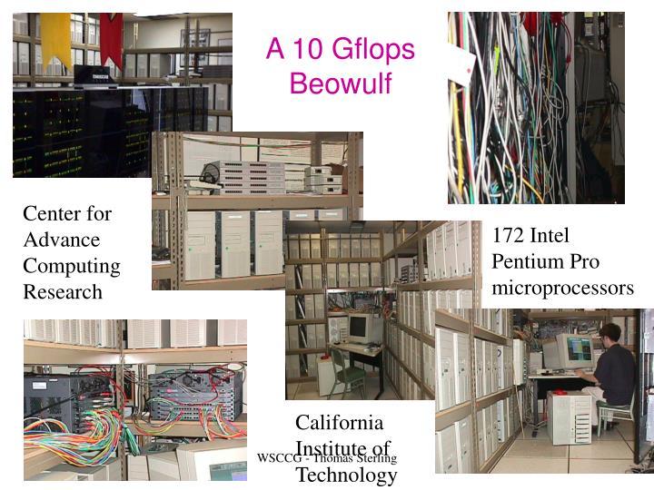 A 10 Gflops Beowulf