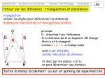 retour sur les distances triangulation et parallaxes