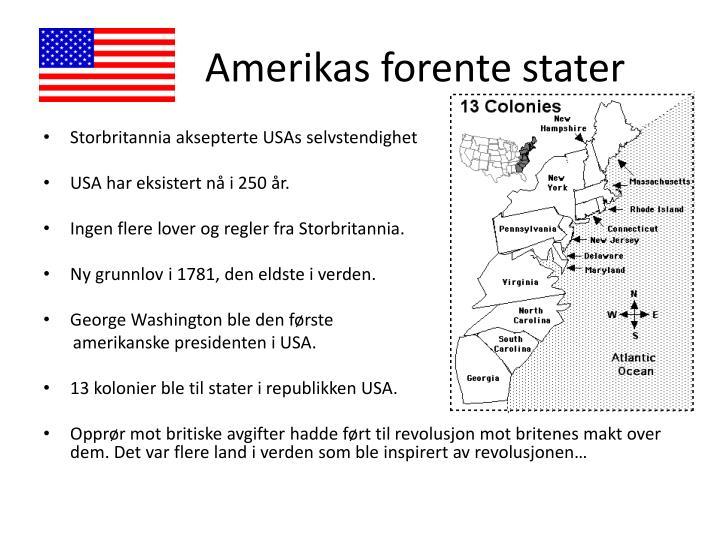 Amerikas forente stater