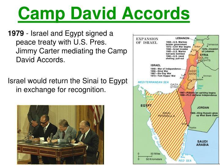 Essays camp david accords