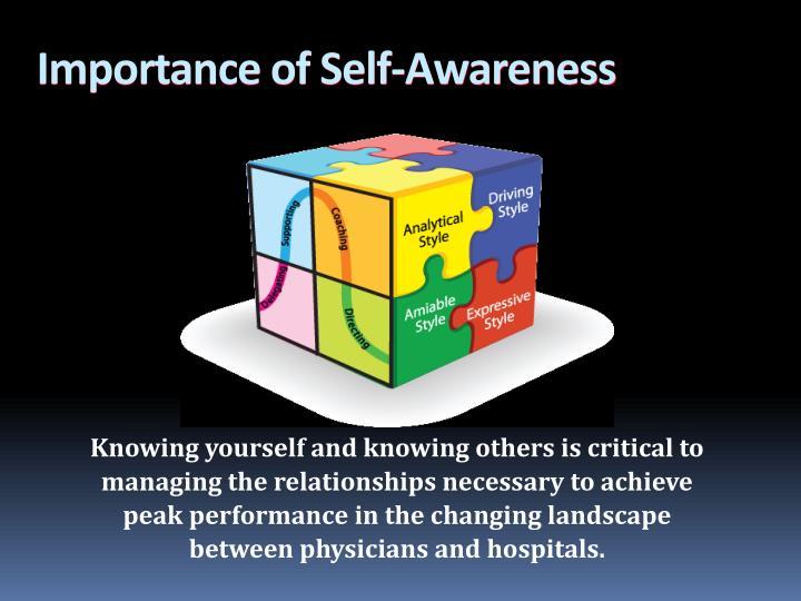 Importance of Self-Awareness