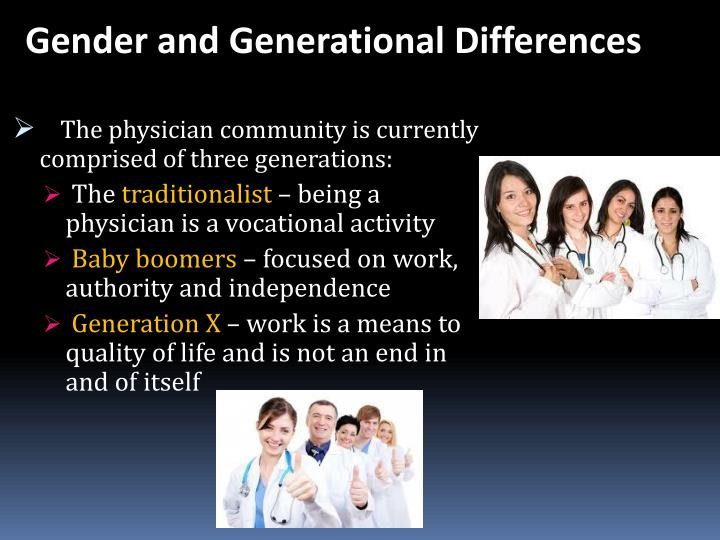 Gender and Generational Differences
