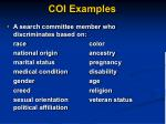 coi examples1