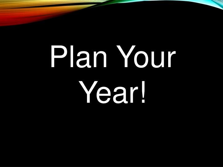 Plan Your