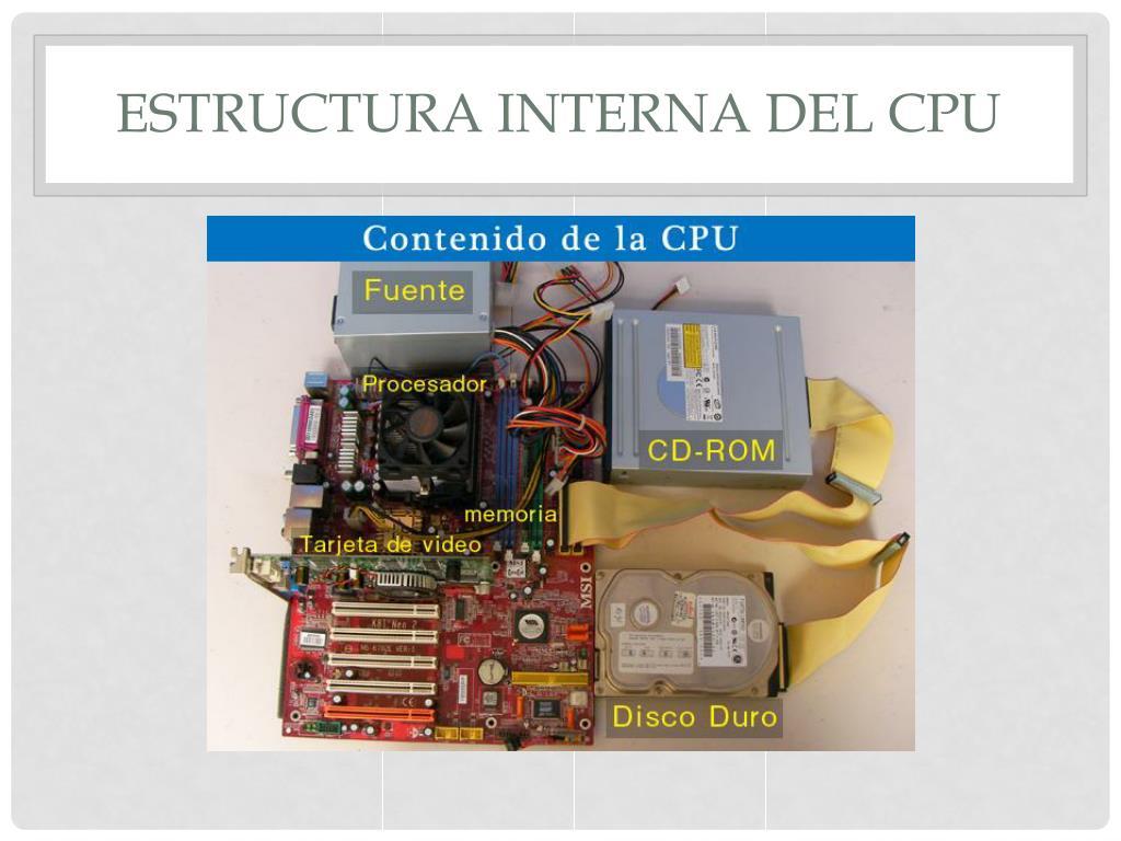 Ppt Cpu Y Memoria Ram Historia Tipos Y Modelos