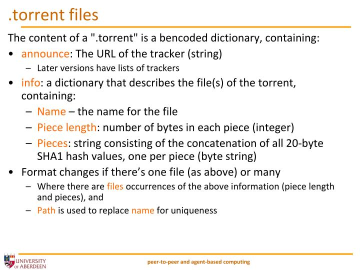 .torrent files