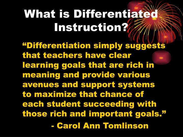 Ppt Differentiated Instruction Powerpoint Presentation Id7036188