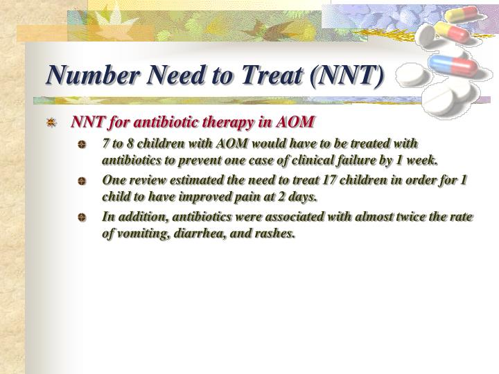 Number Need to Treat (NNT)