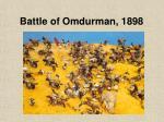 battle of omdurman 1898