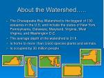 about the watershed
