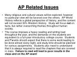 ap related issues1