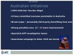 australian initiatives