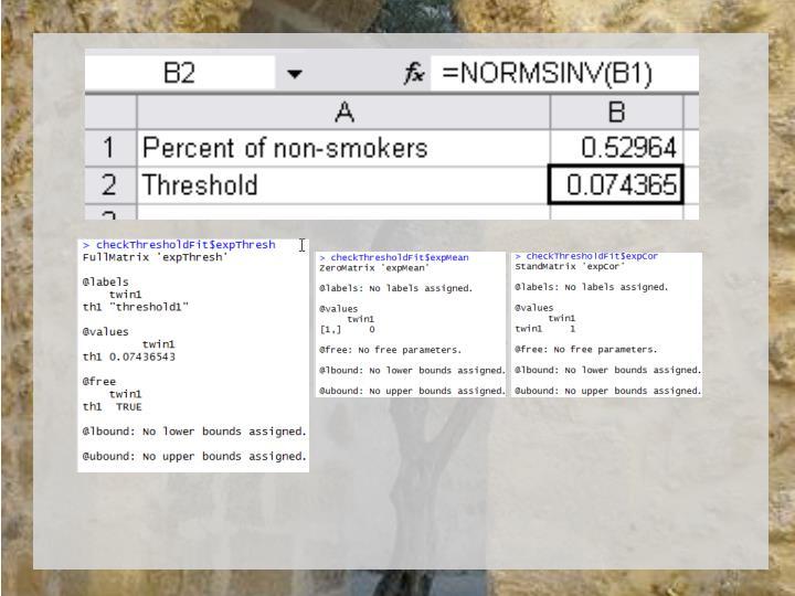 Threshold = .075 – Huh what?