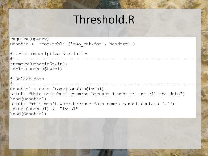 Threshold.R