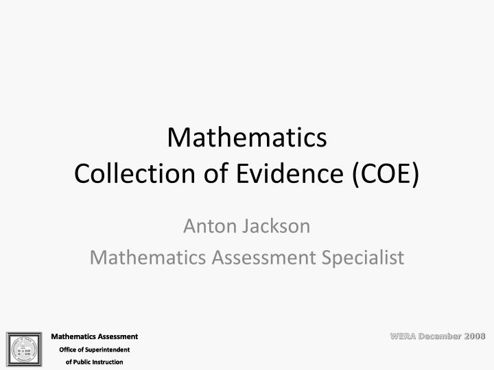 evidence collection policy Examination process: exam and evidence collection explain exam and evidence collection procedures to according to jurisdictional policy collect other evidence.
