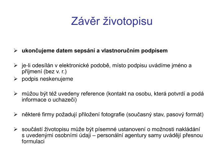 Ppt Zivotopis Powerpoint Presentation Id 7037499