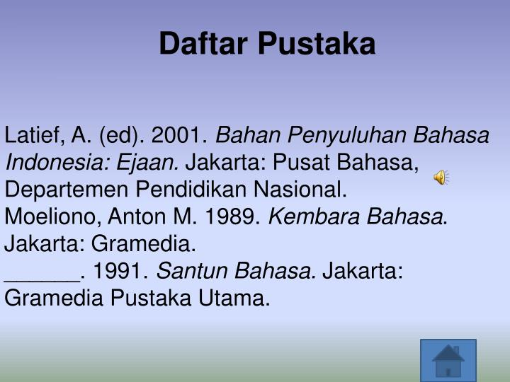 Ppt Pembelajaran Bahasa Indonesia Kelas Ix Powerpoint