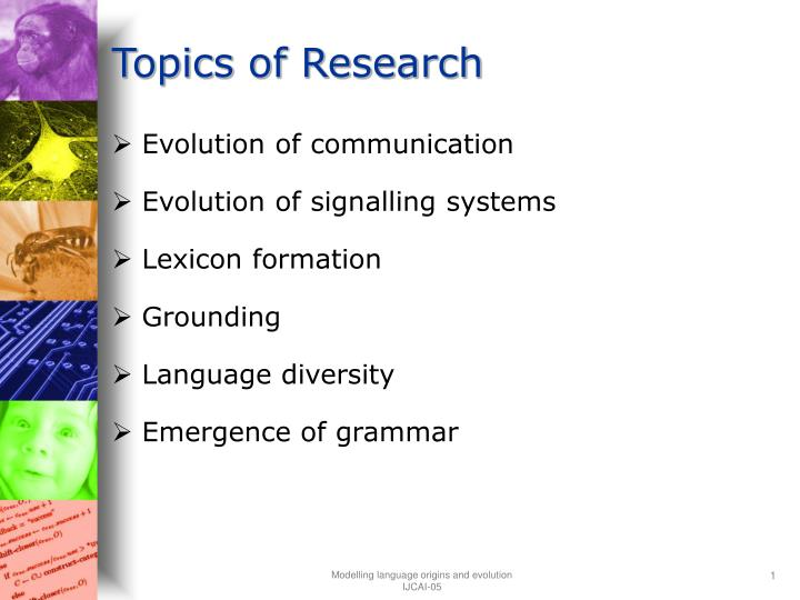 topics of research n.