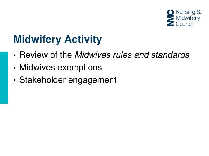 Midwifery Activity
