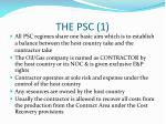 the psc 1