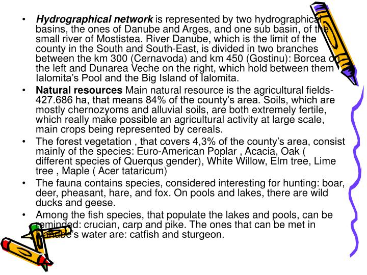 Hydrographical network