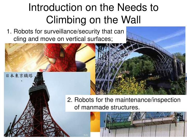 Introduction on the needs to climbing on the wall