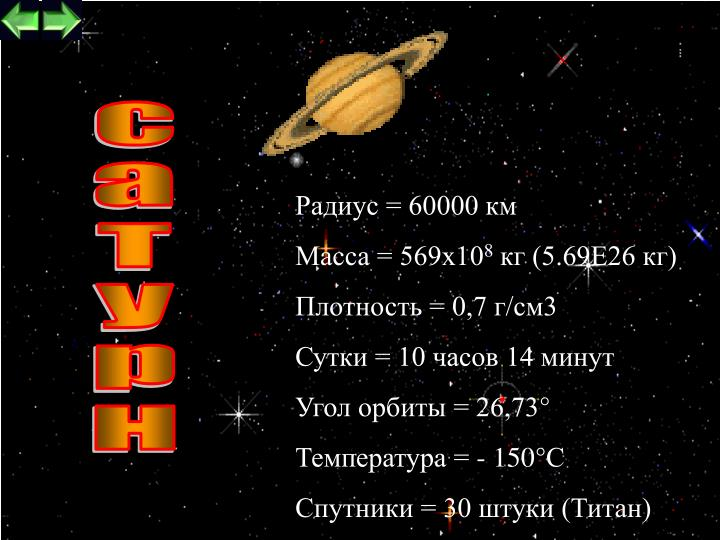 Радиус = 60000 км