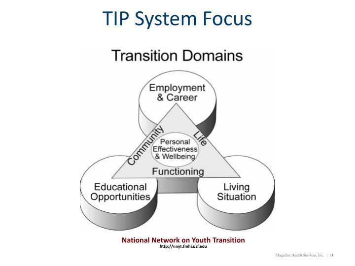 TIP System Focus