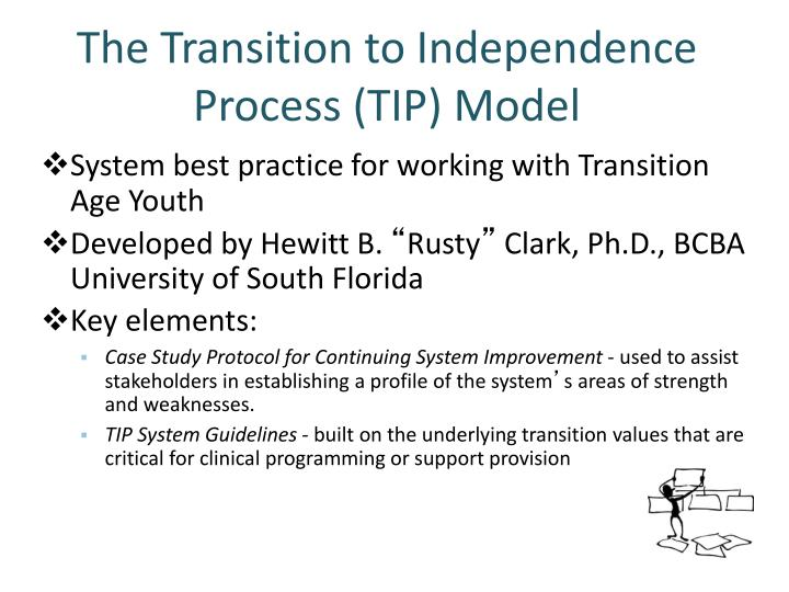 The Transition to Independence Process (TIP) Model