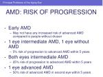 amd risk of progression